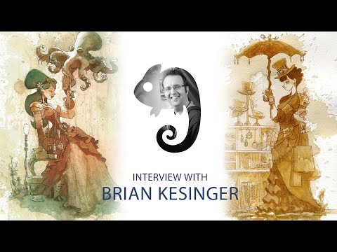 How This Artist Became a Pro at Age 18. Brian Kesinger Schoolism interview