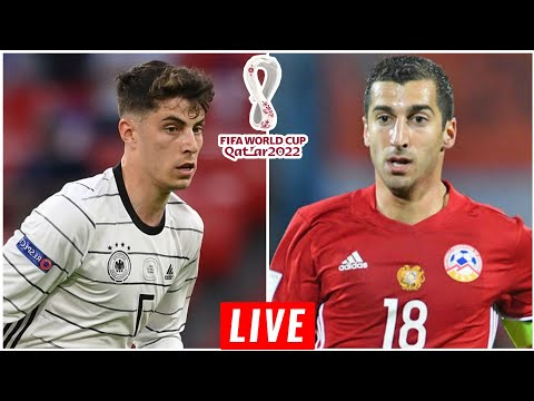 🔴 Germany Vs Armenia | World Cup Qualifiers | Live Match Today | 2021 🎮PES21 HD Gameplay