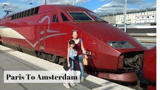 Thalys Train - Paris to Amsterdam