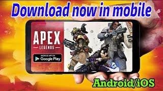 APEX LEGEND IS NOW ON MOBILE || Apex legend gameplay || apex legend vs pubg
