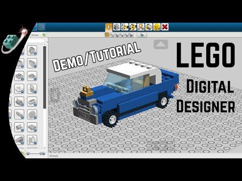 LEGO Digital Designer Introduction and Tutorial