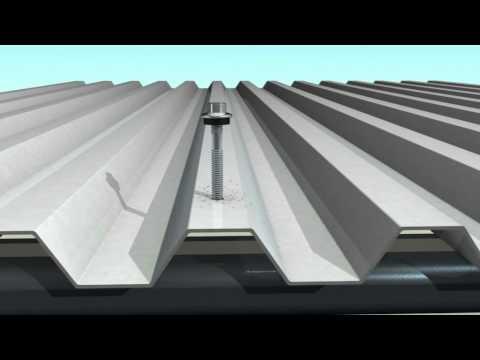 Roofing Head Head Teks. Кровельный саморез по металлу с EPDM для крепления профнастила.