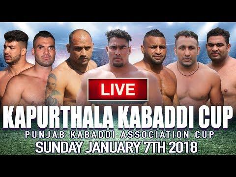 🔴 Kapurthala Kabaddi Cup 2018 | (Guru Nanak Stadium) | LIVE KABADDI