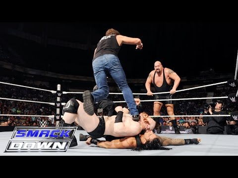 Roman Reigns & Dean Ambrose vs. Sheamus & Big Show: SmackDown, July 16, 2015 thumbnail