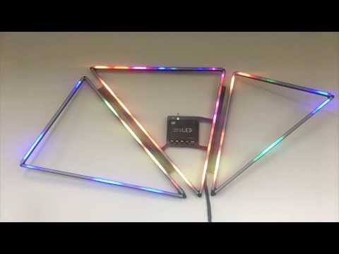 Setting up a Kling-Force LED with GrandVJ XT and the Kling-Net Mapper - Tutorial