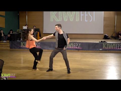 Semion Ovsiannikov & Maria Elizarova Kiwi Fest 2017 Pro Show
