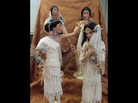 native-american-bride-dolls-porcelain-collection-review