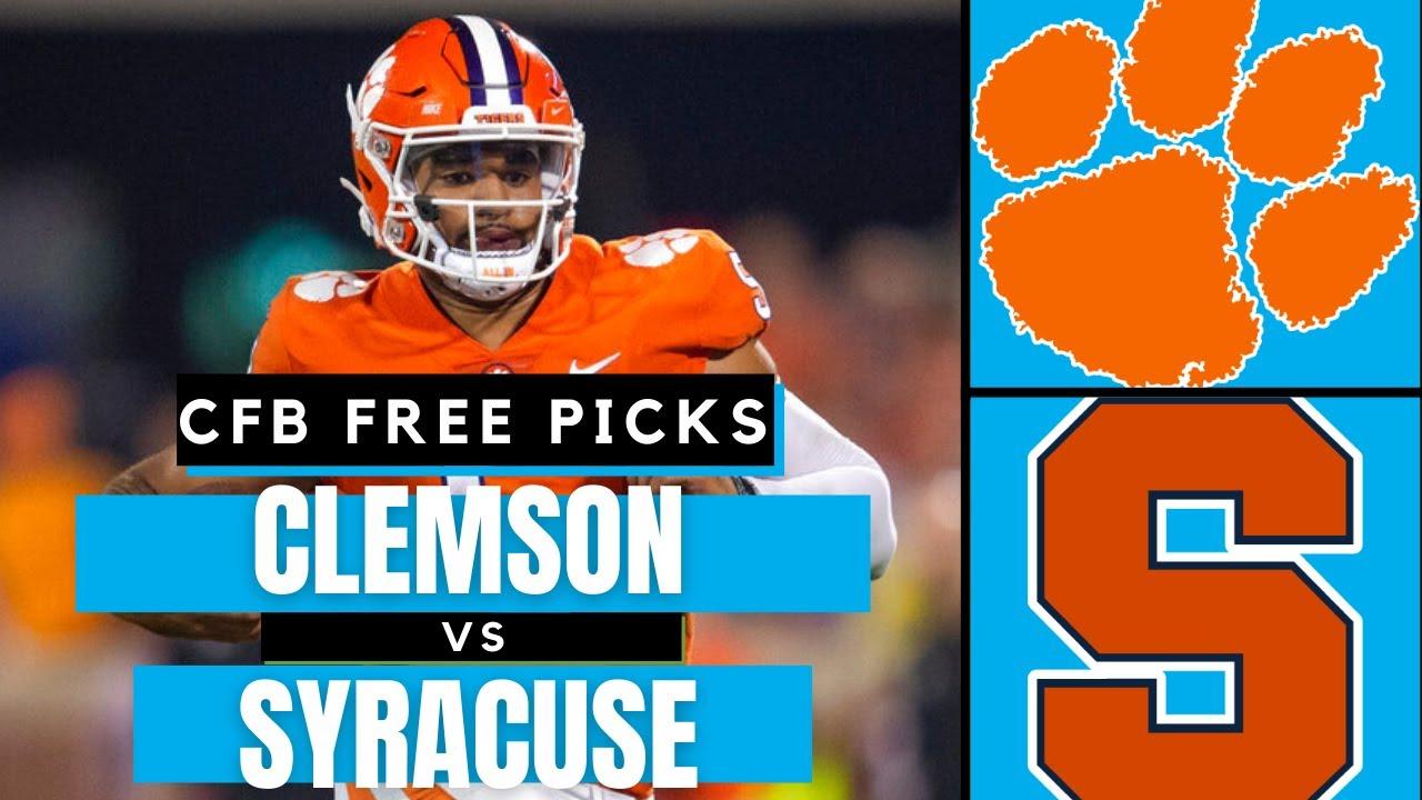 Clemson vs. Syracuse: Prediction, pick, football game spread, odds ...