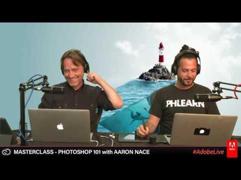 Live Masterclass with Aaron Nace - Photoshop 101 1/3