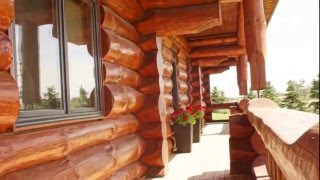 Outstanding Log Home for sale in Middlesex