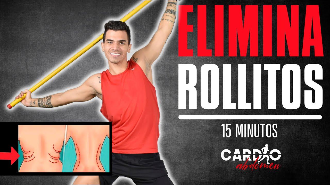 ELIMINA los ROLLITOS DELA ESPALDA  15 minutos 