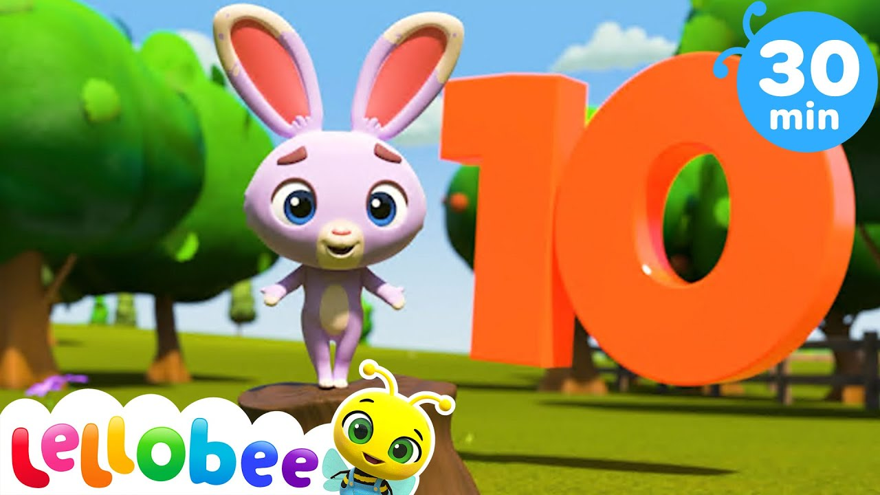 10 Little Chickies and Bunnies Song + More Nursery Rhymes & Kids Songs - Little Baby Bum