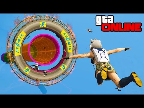 STUNT FAILS, BUSTED! & SKYDIVING! || GTA 5 Online || PC (Funny Moments)