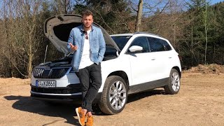 2018 Skoda Karoq Style 2.0 TDI 110 kW (150 PS) 7-Gang-DSG 4x4 - Fahrbericht | Review | Test |