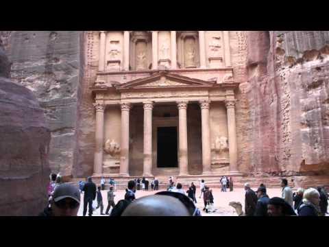 Храм в скале в городе Петра(Иордания).m2ts