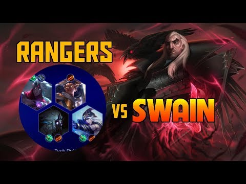 TEAM RANGERS + SWAIN UNKILLABLE | TFT Best & Funny Moments