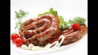 Колбаса украинская, домашняя