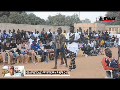 Gala De Lutte Hommage à Pape Dia Au Stade Municipal De Mbour  - Part-3