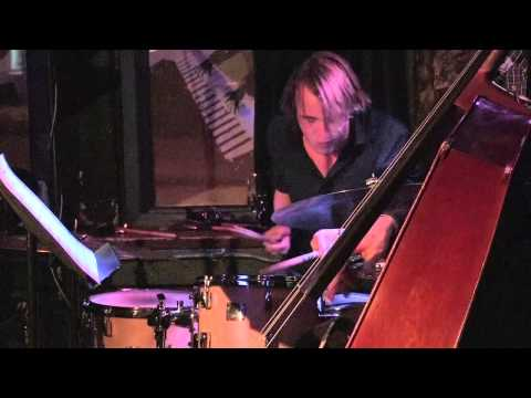 Raphael Pannier drum solo, live Upstairs Jazz Club, Montreal, Canada