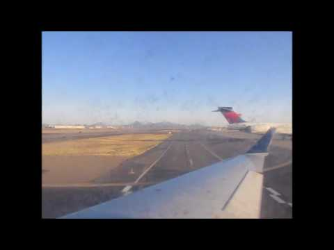Delta Connection CRJ-700 POWERFUL Takeoff from Tucson