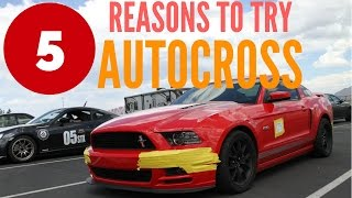 Five Reasons To Try Autocross!