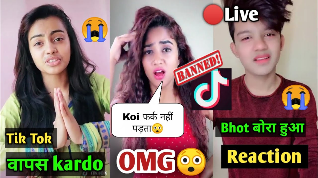 Tik Tok BAN Reaction Riyaz, Beauty khan, Nisha Guragain, Tik Tok Ban In India, Riyaz Aly