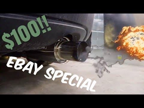 Ebay special Catback Exhaust install on Honda Civic