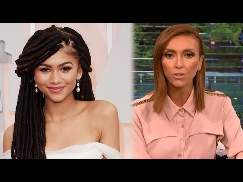 "Giuliana Rancic Apologizes To Zendaya For ""Weed"" Fashion Police Comments"