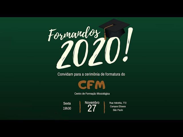 Formatura CFM 2020 - APMT