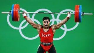 محمد إيهاب محاوله الذهب للبطل ورقم عالمي جديد لأول مره في التاريخ للاعب مصري 173خطف وسط ذهول  لجميع