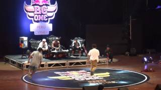 RED BULL BC ONE CYPHER PERU 2015  BBOY KRILIN  VS BBOY LIMA 1/8