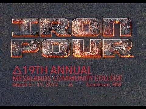 Mesalands Community College 2017 Iron Pour