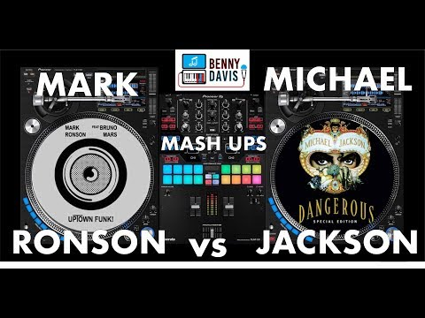 Blurred Lines Between Mark Ronson and Michael Jackson - Uptown Funk Jam