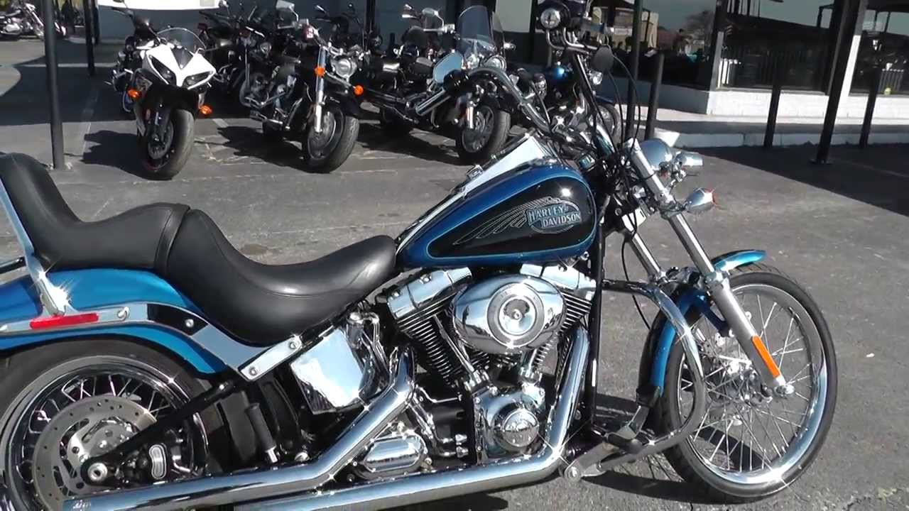 012580 2008 harley davidson softail custom fxstc used motorcycle for sale youtube. Black Bedroom Furniture Sets. Home Design Ideas
