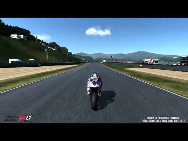 MotoGP 13 Gameplay teaser video 1