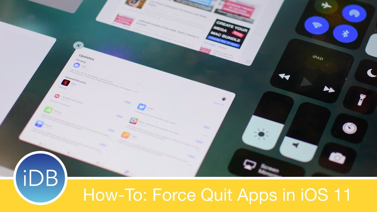 how to force close apps