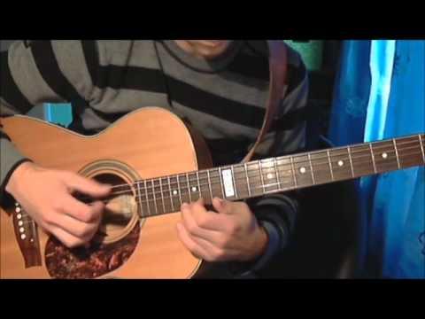 Dexter Blood Theme Acoustic Guitar