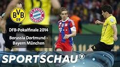 DFB-Pokalfinale 2014 BVB gegen FC Bayern | Sportschau