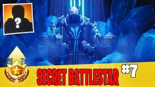 Secret Week 7 Battle Star Location Guide in Fortnite // FREE Battle Pass Tier in Season 7