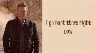 Blake Shelton -I Lived It- Lyrics On Screen Mp3