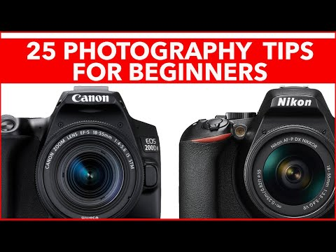 25 Cool Photography Tips For Beginners - How To Get Better Photos From Your Digital Camera