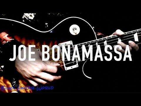 "7 Blues Licks from Joe Bonamassa ""Redemption"" | Blues Guitar World"