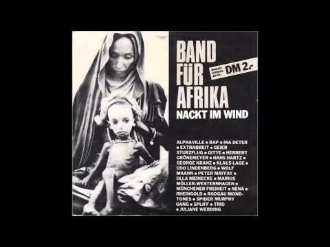"""Band Für Afrika - Nackt Im Wind 12"""" Maxi Version"""