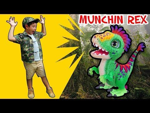 สกายเลอร์   ละครสั้น สกายเลอร์หลงเข้าไปในโลกไดโนเสาร์ จะโดนกินมั้ย? นิทานสนุกๆ สำหรับเด็ก