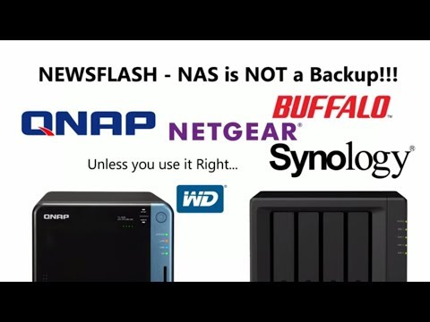 NAS is not a BACKUP - Important things to Remember about your data