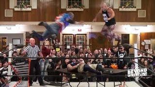 Aftermath of TLC Match: Doom Patrol vs. EYFBO | Beyond Wrestling (LAX, Catch Point, Team Pazuzu)