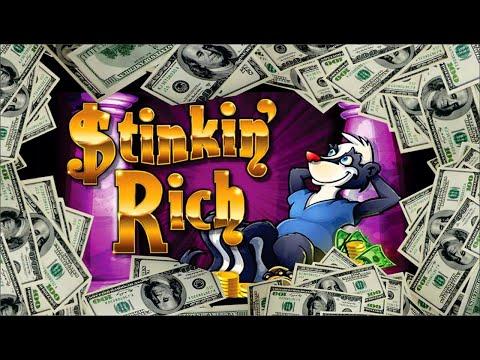 Stinkin' Rich Handpay Coin Shows & Bonus Rounds