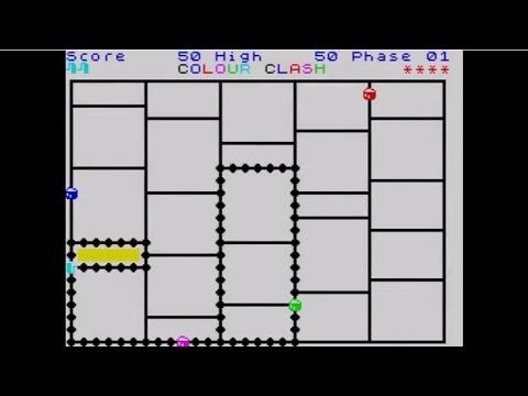Colour Clash ~ ZX Spectrum