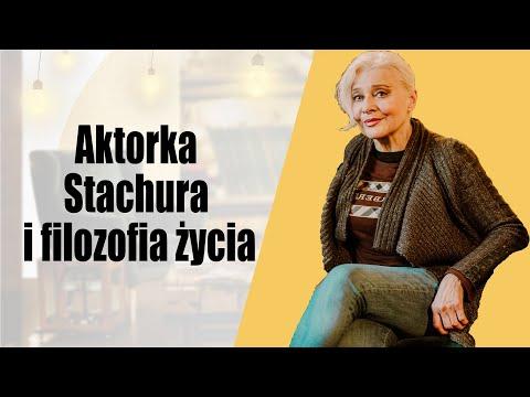 Aktorka, Stachura i filozofia życia - Anna Chodakowska