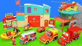 Feuerwehrmann Sam & Lego Duplo Spielzeug & Feuerwehrautos | Bestes Set Zum Spielen Für Kinder